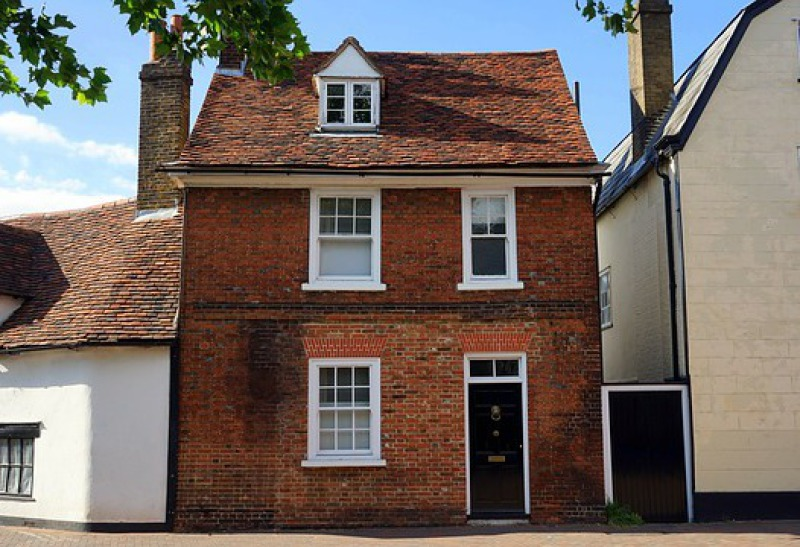 Property extension at rear, North London terraced house