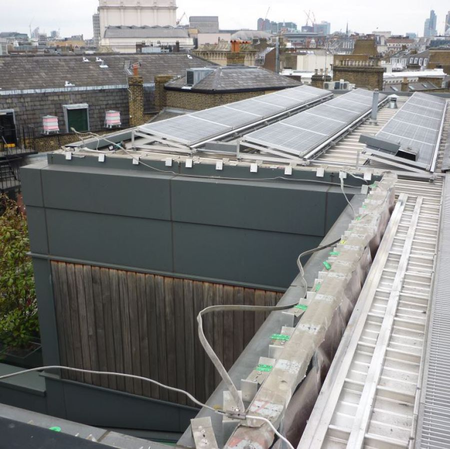 Central London warehouse air conditioning units renewal